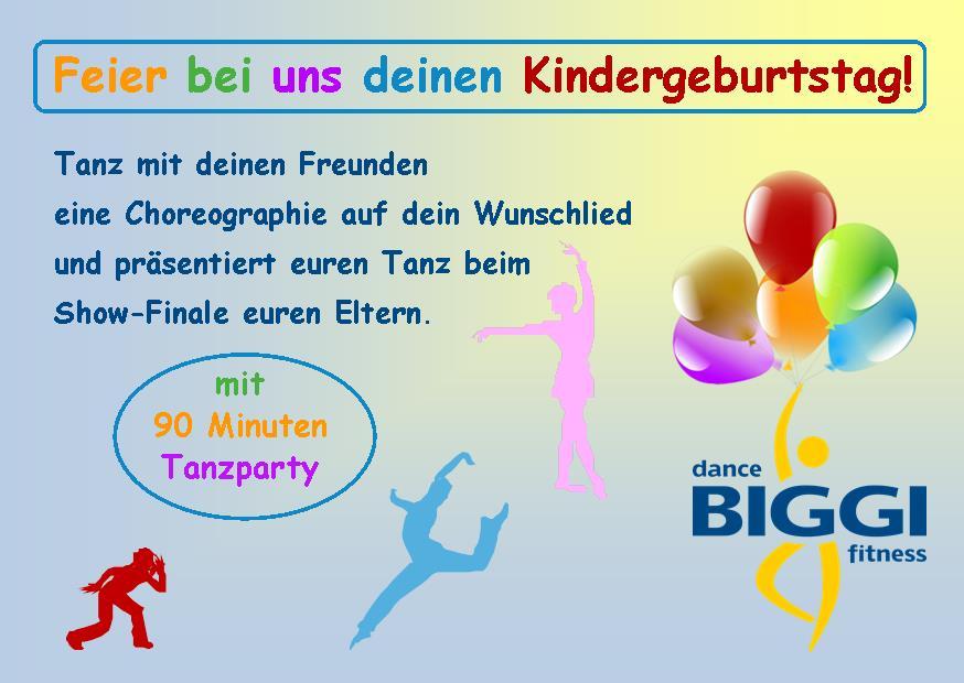 Kindergeburtstag Tanzschule Biggi Klömpkes GmbH