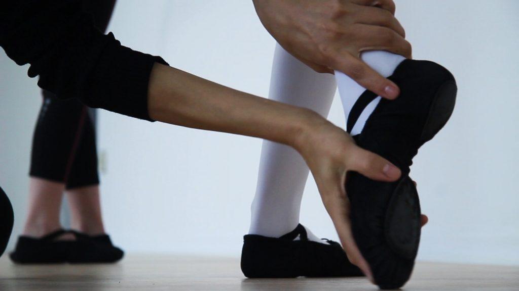 Ballett Fuß Tanzschule Biggi Klömpkes